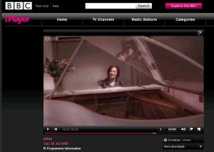 Tinkling the iVories on the iPlayer!