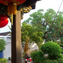 Inside a Temple in Hoi An